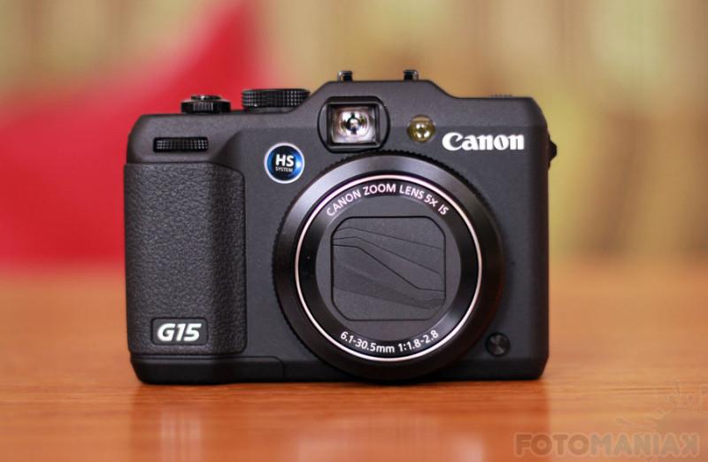 Canon G15 / fot. fotoManiaK.pl