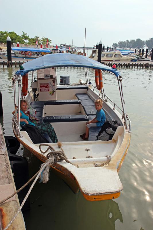 Nasz speedboat na Perhentian / fot. rozlatani.pl