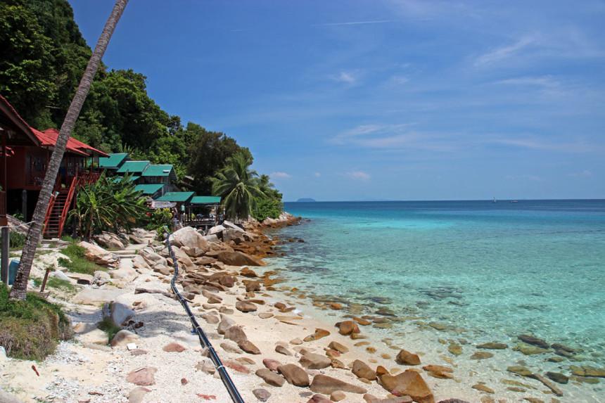 Perhentian Kecil, Coral Bay / fot. rozlatani.pl